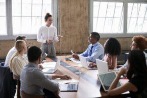 apps de gestión para empresas en Valencia - reunion