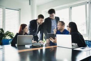 CRM para empresas - Personal de trabajo